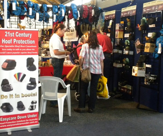 Easycare Down Under booth at Equitana